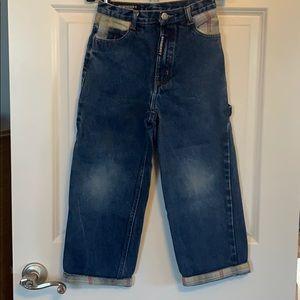 Burberry boys carpenter jeans size 8